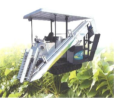 大根収穫機