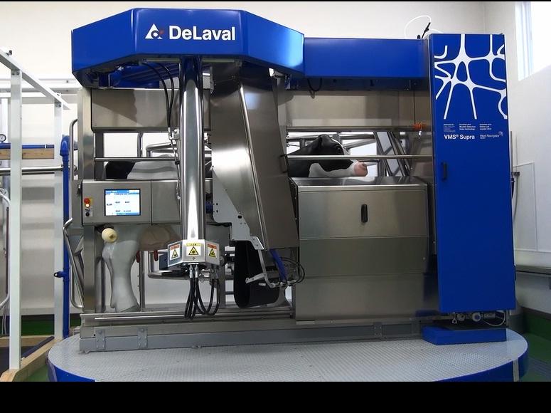 自動搾乳機         ボランタリミルキングシステム